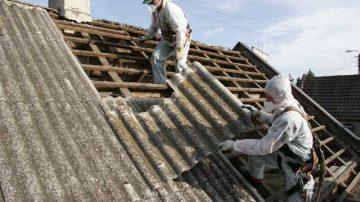 Reparare si acoperire protectiva invelitori de azbociment