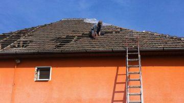 Reparare acoperisuri din tigla ceramica