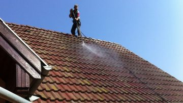 Spalare acoperis si tratare cu solutii de neutralizare a afinitati chimice