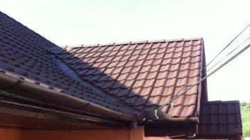 Vopsire acoperisuri noi din Tigla